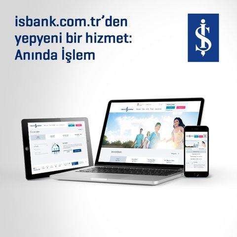 Ev kredisi başvurusu için İş Bankası'ndan bir ilk!