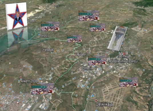 REMAX-Deltadan-Hadımköy SANAYİ de KİRALIK 10.000 m2 ARSA