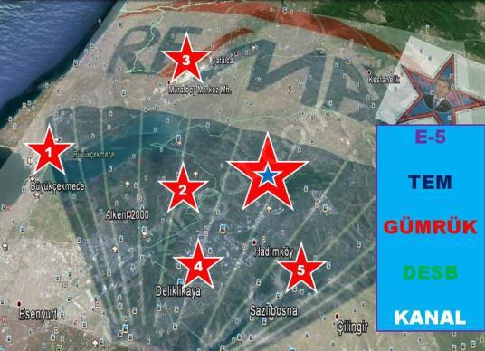 REMAX-Delta'dan Hadımköy'de Satılık Lojistik İmarlı Kupon Arsa - Harita