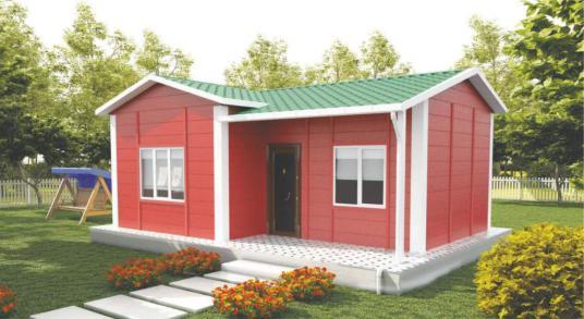 izmir prefabrik ev fiyatları - Çanakkale prefabrik ev fiyatları - Dış Cephe