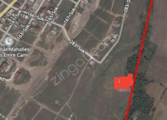Çerkezköy Kızılpınar'da 460 m2 Satılık Konut İmarlı arsa - Harita