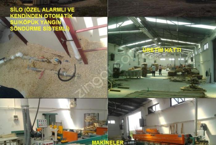 Çankırı Korgun Osb'de Satılık Fabrika