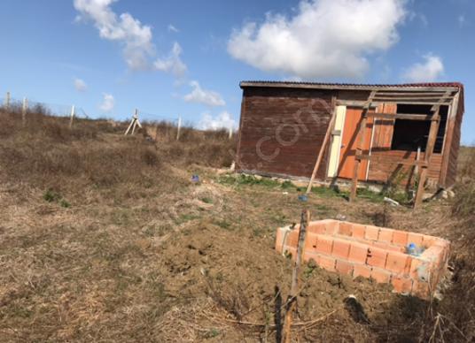 ÇATALCA ELBASAN'DA 400 m2 BAHÇE İÇİNDE YAPI KAYIT BELGELİ KULÜBE - Arsa