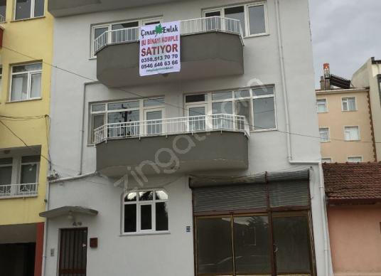 ÇINAR EMLAK'TAN KOMPLE SATILIK BİNA - Dış Cephe