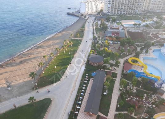 günlük filamingo 4 tatil sitesi denize hakim 3+1 kafa daire - Açık Otopark