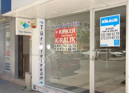 KIRKER Emlak'tan Gazlıgöl Caddesinde 250 M² Kiralık Dükkan !