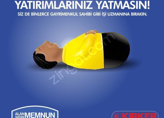KIRKER Emlak'tan Çayırbağ'da 1000 M² Satılık Fırsat Arsa ! - Logo