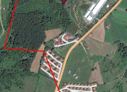 Kartepe Ketenciler'de Satılık Bahçe - Harita