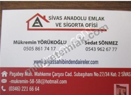 SİVAS ANADOLU EMLAKTAN KIZILKAVRAZ'DA ACİL SATILIK 17 DÖNÜM TARL - Logo