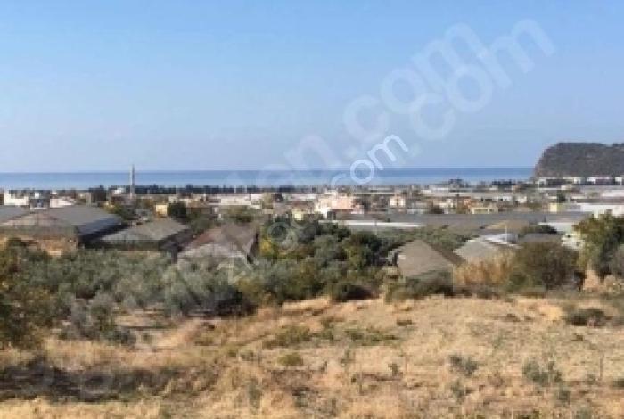 Alanya Gazipaşa Esentepe'de Satılık Konut İmarlı  Ful Deniz