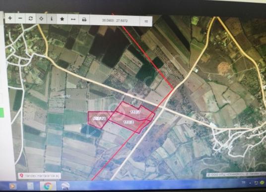 Fırsat ürünü Tire Yenioba'da Satılık Tarla - Harita