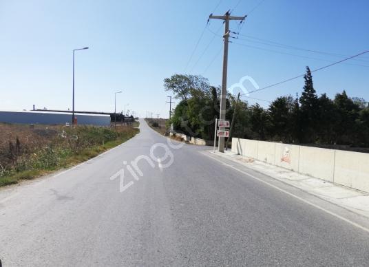 Silivri Gazitepe'de Satılık Tarla Fabrikalar Caddesinde Manzaral - Sokak Cadde Görünümü