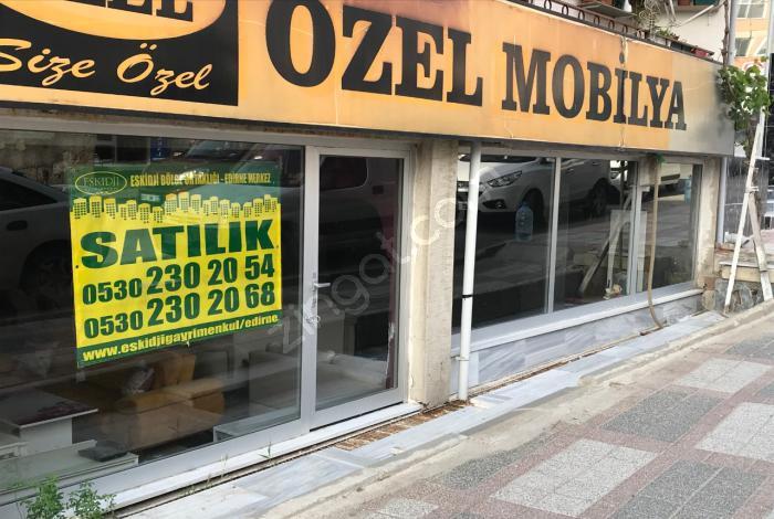 Edirne Kıyık'da Satılık 110 M2  Dükkan Eskidji'den
