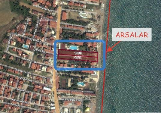 Tekirdağ Kumbağ Denize Sıfır Satılık Arsa - Kat Planı