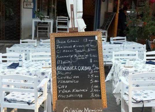 Urla MALGACA pazarı içinde satılık CAFE RESTAURANT TABDK belgeli - Site İçi Görünüm