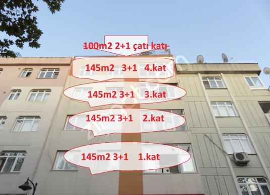 ELİBOL GAYRİMENKUL'den SATILIK BİNA 4 ADET 3+1 + 1 ADET 2+1