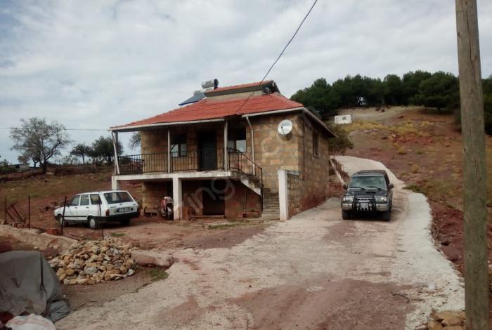 Kazdağları,ayvacık, Yeniçam Köyü Müstakil Taş Ev 1650 M2 Bahçeli