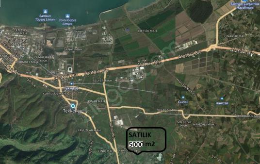 SATILIK TARLA TEKKEKÖY CİVARI ANAYOLA 5 KM MESAFEDE TAM YATIRIM