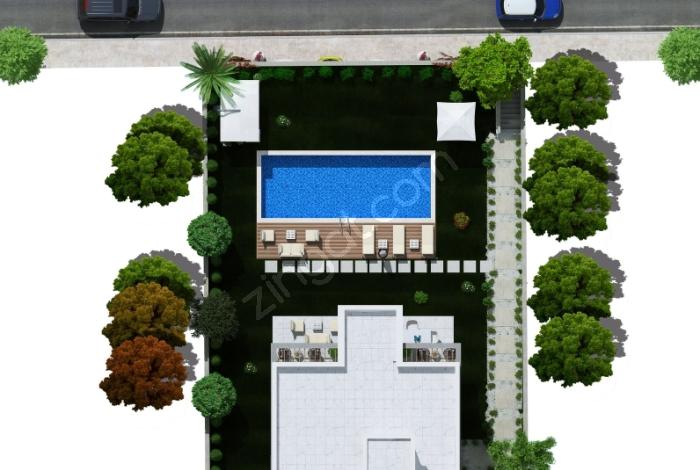 Milas Boğaziçi'de Satılık Sıfır Müstakil Ev
