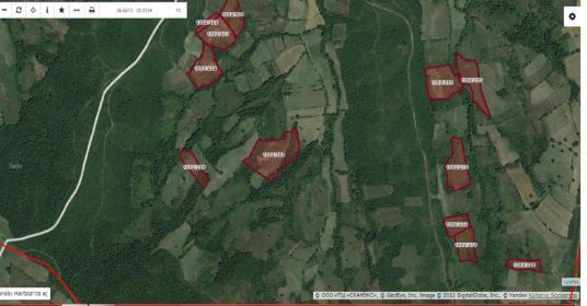 Mustafakemalpaşa Demirdere 124.000 m2 imar planına yakin arazi