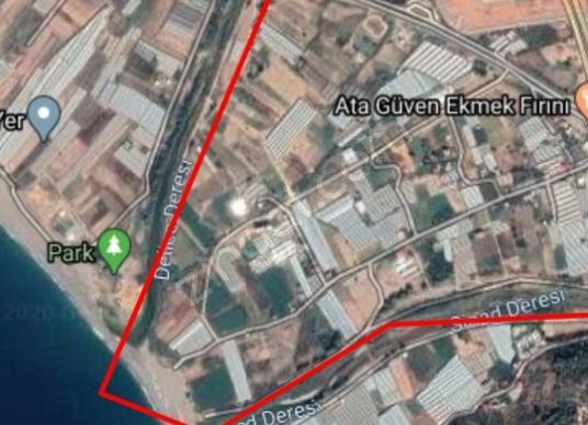 Gazipaşa Kahyalar'da Satılık Turistik Arsa - Kat Planı
