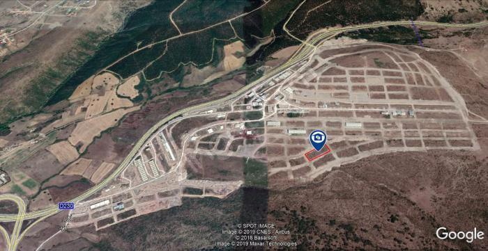Atatepe Sanayi Sitesinde 400M² %75 İmarlı Sanayi Arsası