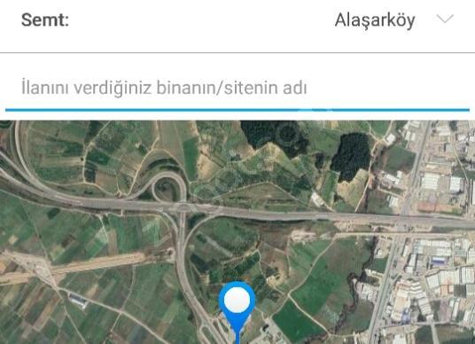 Osmangazi Alaşarköy'de Satılık Sanayi İmarlı - Kat Planı