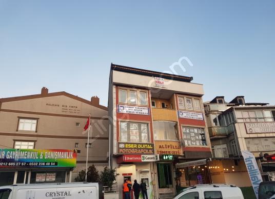 Arnavutkoy Bolluca merkezde kiralik 90m ofis - Sokak Cadde Görünümü