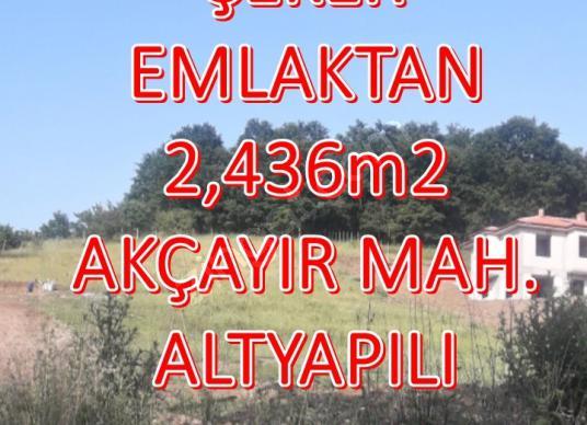 160-ŞEKER EMLAKTAN 2,436m2 SATILIK ARSA - Logo