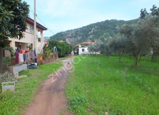 TURGUT KÖYÜ MERKEZDE SATILIK 920 m2 ARSA - Sokak Cadde Görünümü