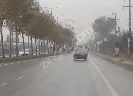 SAKARYA ÜÇEL EMLAKTAN ÇEVRE YOLUNDA SATILIK TİCARİ İMARLI ARSA - Sokak Cadde Görünümü
