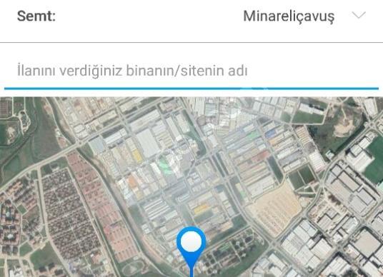 Nilüfer Minareliçavuş'da Satılık Sanayi İmarlı - Kat Planı