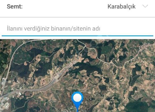 Osmangazi Karabalçık'ta Satılık Tarla - Kat Planı