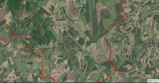 Silivri Kurfallı'da 5.550 m2 Satılık Tarla - Harita