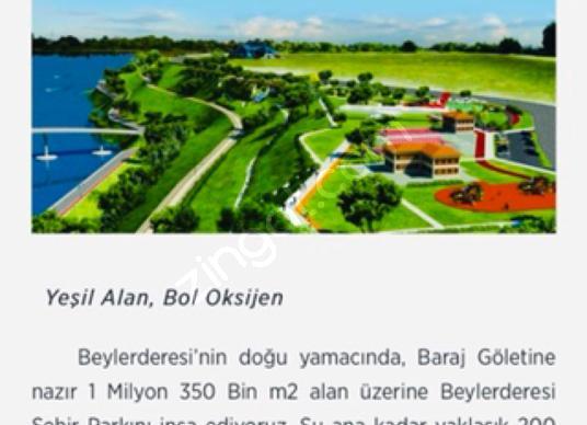 BEYLER DERESİ ŞEHİR PARKINDA MÜKEMMEL ARSA