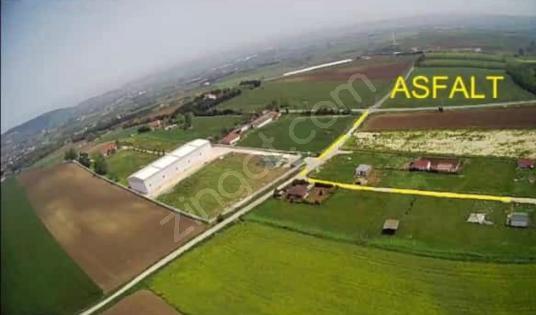 ÇATALCA ELBASAN KÖYÜNDE ASFALT YAKINI SATILIK ARSA 600 m2 PARSEL - Arsa