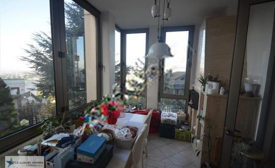 Beykoz Acce Luxury Homes'dan Boğazüstü Evlerinde Satılık - Balkon - Teras