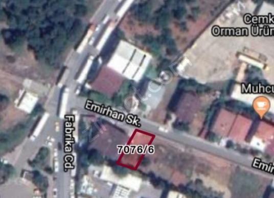 Sancaktepe Fatih'de Satılık imarlı arsa - Harita