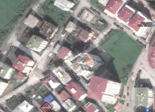Canik Hasköy' de Satılık 130 m2 Arsa (Bitişik Nizam) - Sokak Cadde Görünümü