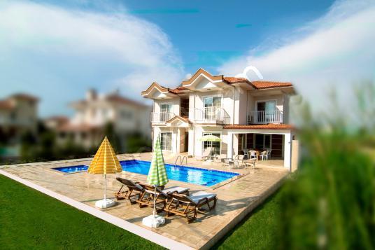 DALYAN da Villa YAPRAK & Yazlık Kiralama - Dalyan Holiday - Site İçi Görünüm