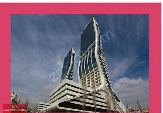 Folkart Towers Bayraklı'da 100 m2 Kiralık Ofis - Dış Cephe