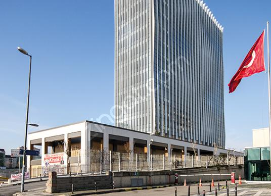 Ümraniye Plazalar Bölgesi'nde EN Plazada A+ Ofis Katları - Dış Cephe