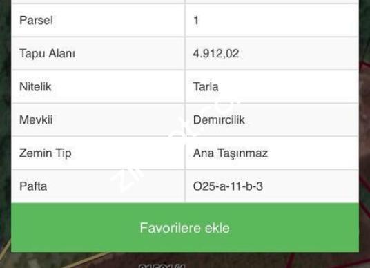 Çakırlar' da 37.967 m² Acil Satılık Arsa