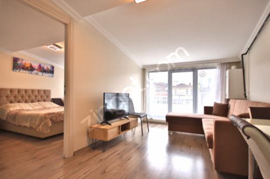 شقة مفروشة بالكامل 1 + 1 بالقرب من المترو في شيشلي - Yatak Odası