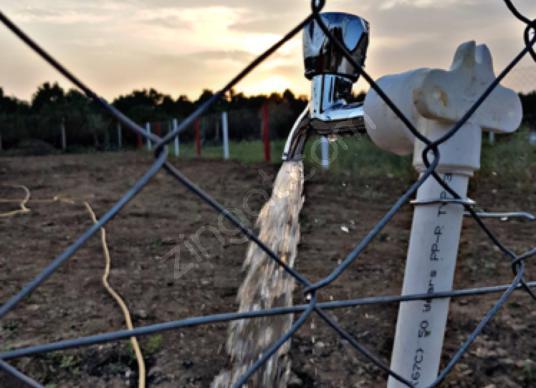 Akhisar Efendi'de Satılık Site içi hobi bahçesi tel su elektrik - undefined
