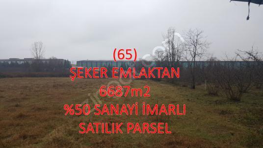 SATILIK 6687m2 ALTYAPILI %50 İMARLI  UYGUN SANAYİ ARSASI - Logo