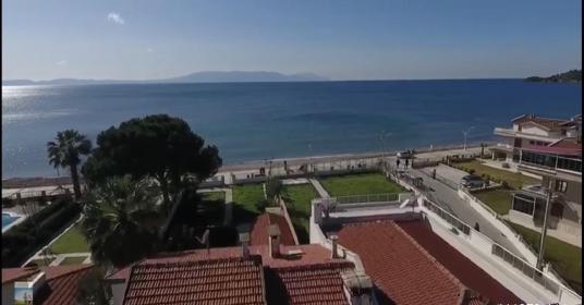 Özdere Çukuraltında Denize Sıfır Villa - Manzara