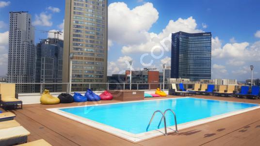 Şişli-Bomonti Elysium Fantastic Residence 1+1 EŞYALI KİRALIK - Yüzme Havuzu