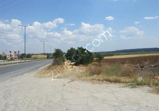 Edirne Kapıkulede Otoyol cepheli 120.800m2 Okazyon SATILIK Arazi - Sokak Cadde Görünümü