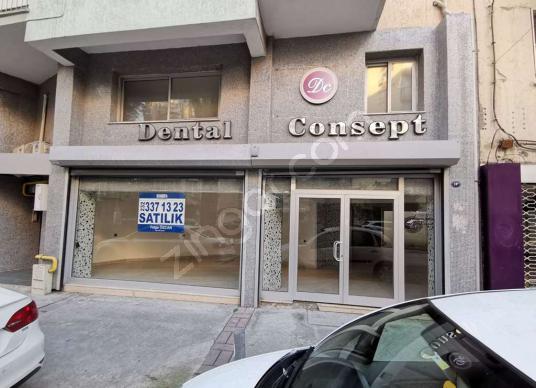 Alsancak TRT Binası Yanı Mimar Sinan Cad Satılık Dükkan 180 Mt - Dış Cephe